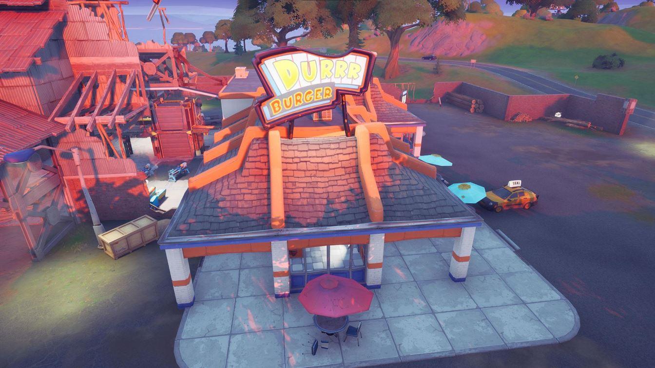 Где найти парные пистолеты в Fortnite, глава 2, сезон 6 - Durrr Burger Location Fortnite
