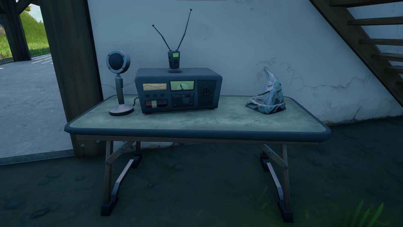 Где найти и использовать радиостанции CB в Fortnite