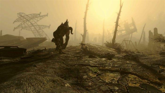 Fallout 4 Коготь Смерти