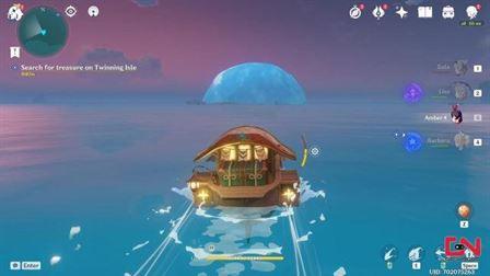 новый пузырь остров гэншин удар