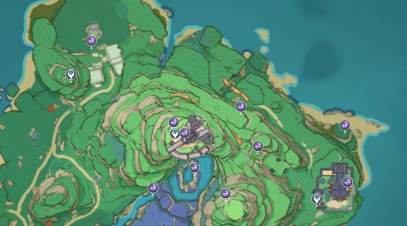 Все локации Electroculus в Инадзуме
