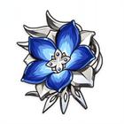 Бледно-пламенный нержавеющий цветок
