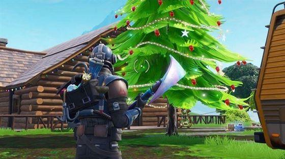 Деревья представляют собой лучший источник древесины для игроков Fortnite. Изображение через Epic Games