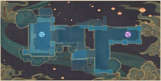 Карта 1 в событии Theater Mechanicus (Изображение предоставлено Genshin Impact)
