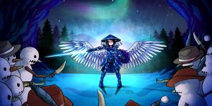 Как сделать крылья в Террарии?